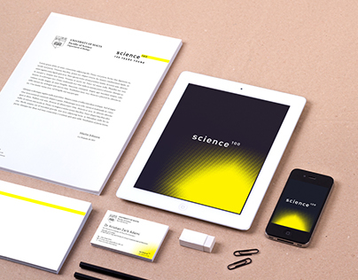 Logo & Stationery Design - Science 100