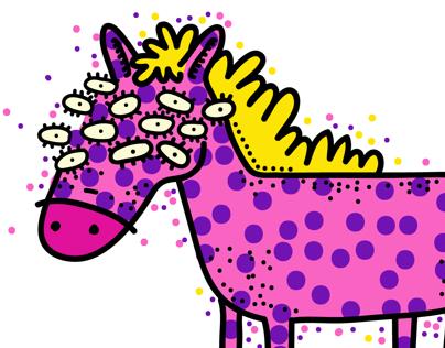 El caballo de mis sueños.