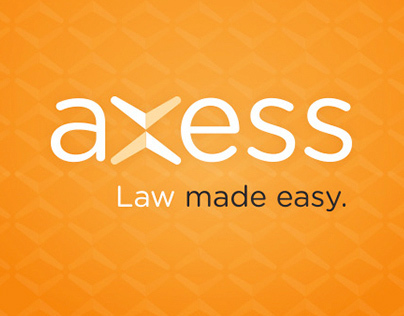 Branding, web design, video - Axess Law