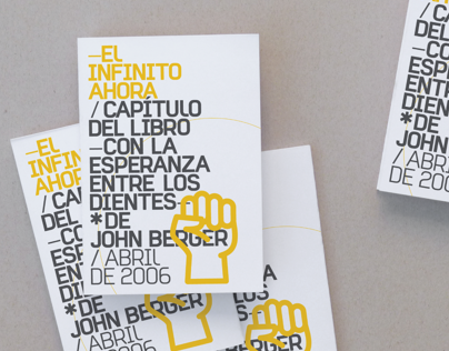 El Infinito ahora - John Berger