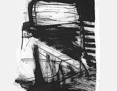 zerissen, ripped drawings 2009