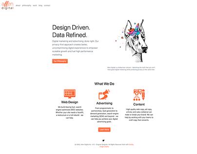 Web Design & Development | Agency Website