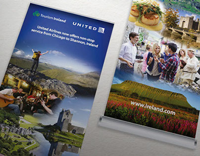 Display panels for Tourism events