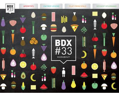 BDX#33 - Fiches / Recettes de cuisine
