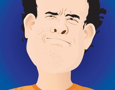 Tom Hanks charicature