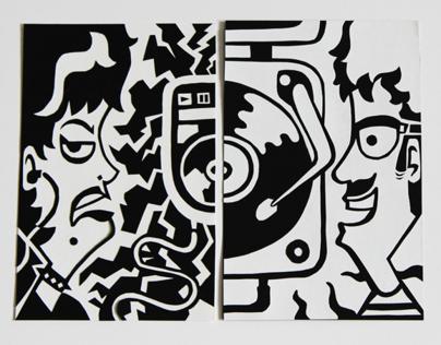 CD / Vinyl Papercut