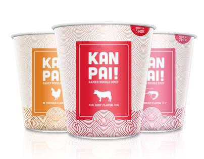 KAN PAI! Ramen Noodle Soup