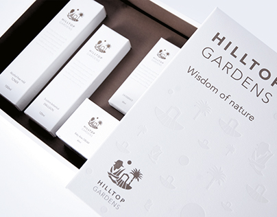 Hilltop Gardens Brand Identity Design