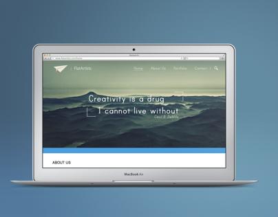 FlatArtists Webdesign