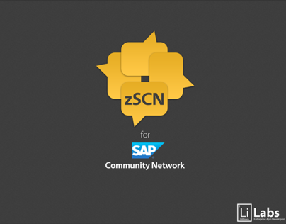 zSCN for SAP SCN (iPad App)