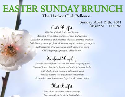 Harbor Club - Easter Sunday