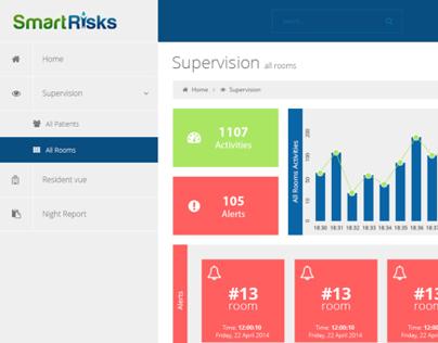 SmartRisk UI/UX Dashboard