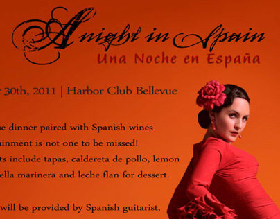 The Harbor Club - A night in Spain