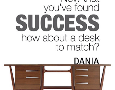 Dania furniture ads