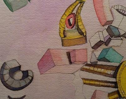 Gizmo Convention, Watercolor