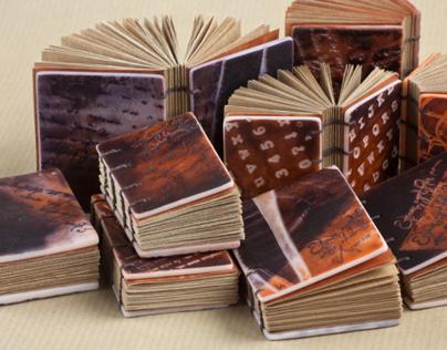 Mini Books. Handmade.