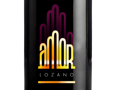 Amor Lozano wine bottle