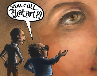 You Call That Art ?!  by Rafik Emil H.