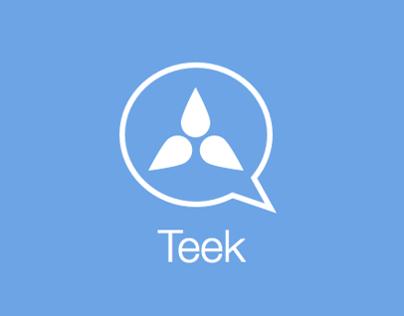 Teek - Intelligent Messaging App