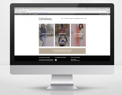 Sylvie Cromwel // Logo - carte de visite - site web
