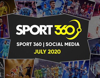 SPORT 360 | Social Media - july 2020