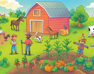 Conhecendo a Fazendinha   Children's Book