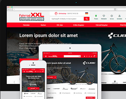 UI / UX Responsive Website Designs
