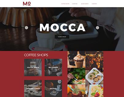 Mocca Website Layout