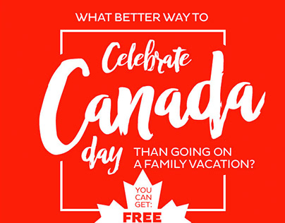 Email Campaign | Royal Holiday | Canada Day