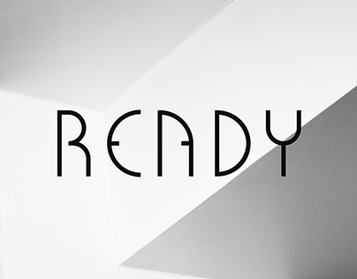 Ready Typeface