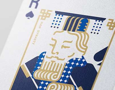 CHINESE DYNASTIES PLAYING CARDS - Poker Design