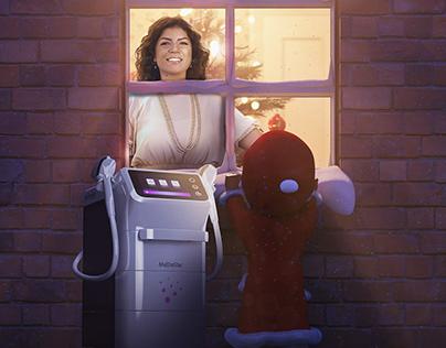 Meidostar Christmas campaign
