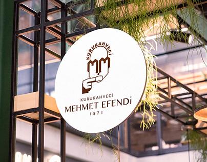 Kurukahveci Mehmet Efendi - Rebranding Concept