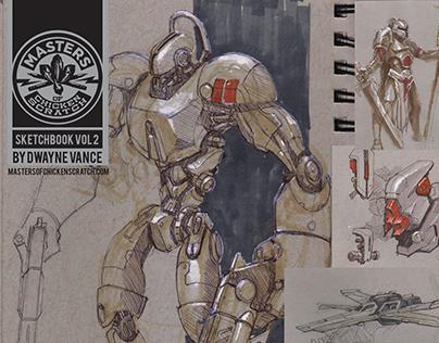 Dwayne Vance Sketchbook Vol 2