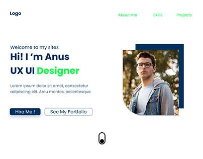 Simple Porfolio Website