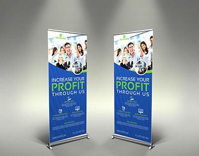 Corporate Signage Banner Roll Up Vol.3
