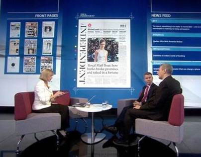Newspapers Preview UHD Wall