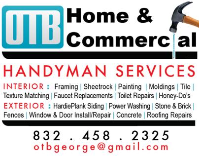 Magazine Ad | OTB Handyman