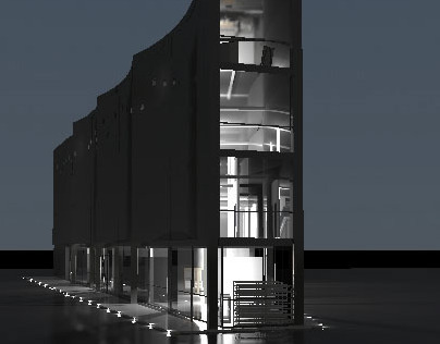 Projekt Muzeum Wisły/ Museum of the Vistula