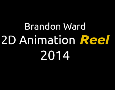 2D Animation Reel