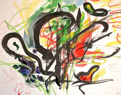 Иероглифы в цветомузыке