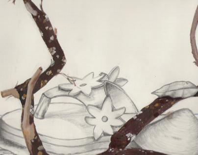 Rough Drawings waiting to be digitalised