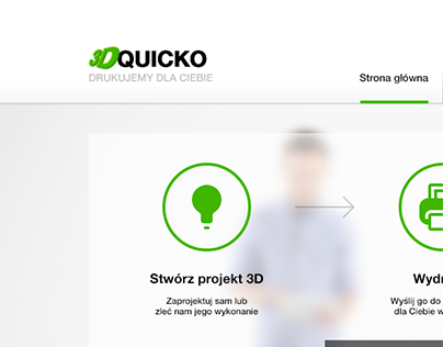 QUICKO 3D printing - site design