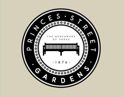 Princes Street Gardens Branding