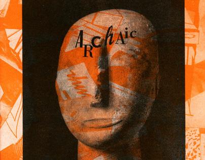 Archaïc carnival risograph zine