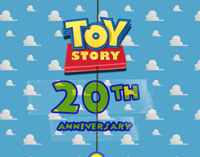 Toy Story onepage website