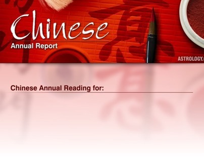 Chinese Annual Report - ASTROLOGY.COM