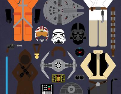 Star Wars: Episode IV | Movie Parts Poster