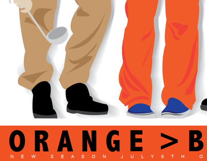Orange is the New Black Poster Series