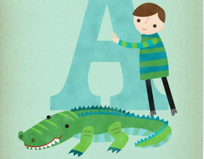Alphabet Animal Art Prints